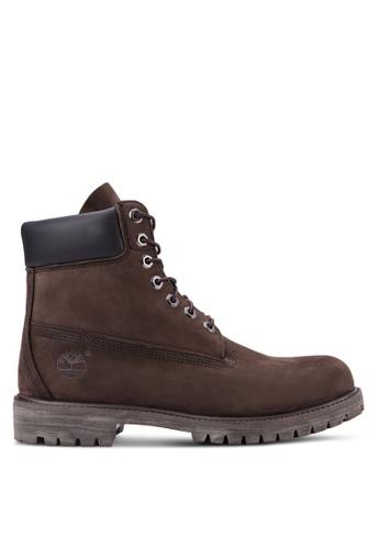 Timberland 褐色 6 寸抗疲勞 優質靴子 TI063SH81RMGMY_1
