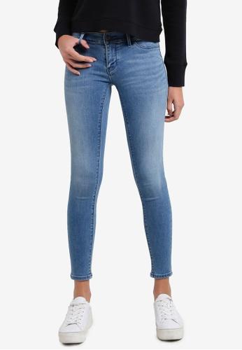 Calvin Klein blue Meridian Light Jeggings - Calvin Klein Jeans CA221AA0RWTZMY_1