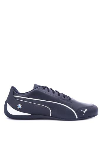 Puma blue BMW MS Drift Cat 7 Jr Training Shoes PU758SH0KIYHPH_1