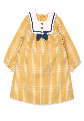 Organic mom yellow Organic Cotton Terresa Tailor Dress FE572KA4F3E4A3GS_1