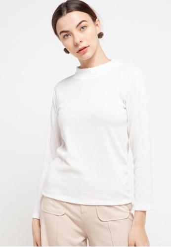 CHANIRA LA PAREZZA white Chanira Ria Off-white Blouse 1BA60AAC5FECA3GS_1