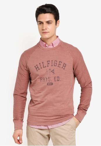 Tommy Hilfiger pink NAZ RGL GMD C-NK L/S 1B691AAEA00A06GS_1
