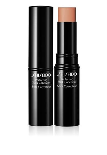 Shiseido beige Shiseido Perfecting Stick Concealer, Medium Deep (55) SH514BE0GQ5XSG_1