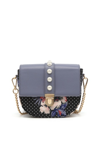 f75c84e540 Fancy Rosy blue Fancy Romance Elegant Printed Pearl Shoulder Bag  2E085ACFB42626GS 1