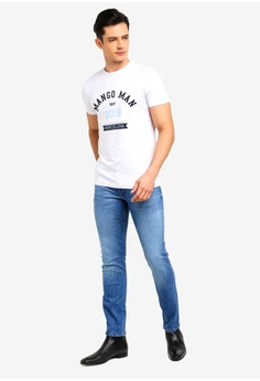 182f23d97d 55% OFF MANGO Man Slim-Fit Medium Wash Jan Jeans RM 177.90 NOW RM 79.90  Sizes 38 40 42