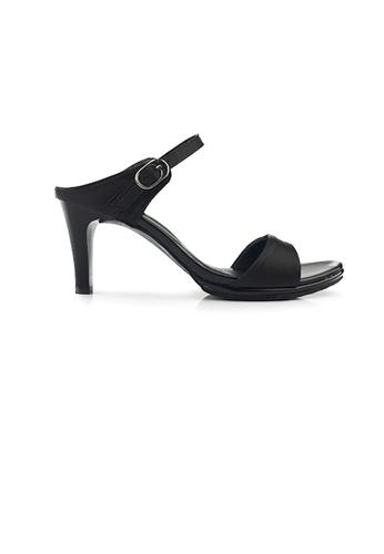 SHINE black Slip On Mule Heels 76781SH22A2971GS_1