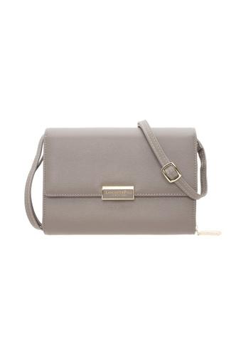 LancasterPolo grey Lancaster Polo Belinda Flip Wallet Sling Bag D0605ACD570C7EGS_1