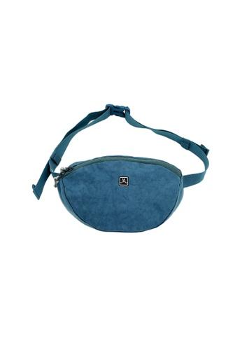 MORAL blue Fitz Hip Pack - Demin 79034AC4D817A3GS_1