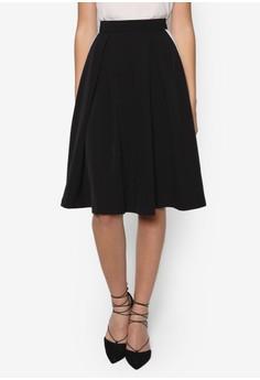 Collection Contrast Panel Midi Skirt