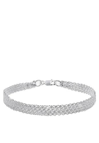 Elli Germany silver Basic Armcandy 925 Sterling Silver Bracelet EL474AC78GSFMY_1