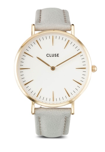 CLUSE grey and gold La Boheme Gold White/Grey CL18414 CL977AC0RDB7MY_1