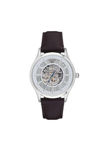 Emporio Armani brown Beta Dark Watch AR1946 EM998AC07GKITW_1