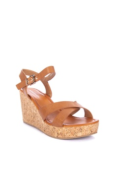 8363dc653e Primadonna Ankle Strap Wedge Sandals Php 1,599.95. Available in several  sizes