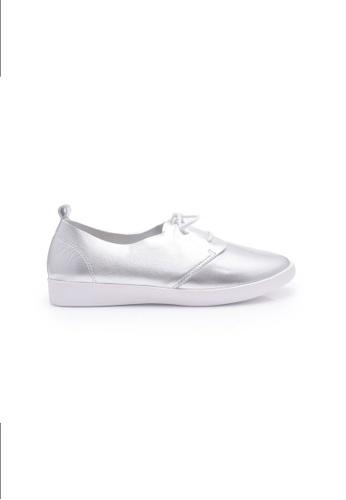 Elisa Litz silver Dalkey Sneakers (Silver) EL365SH0FI32SG_1