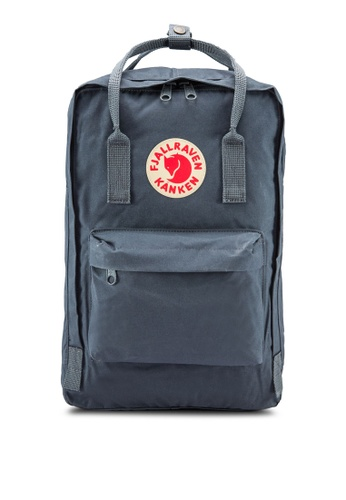 "Fjallraven Kanken grey Graphite Kanken 15"" Laptop Backpack FJ382AC70SQBMY_1"