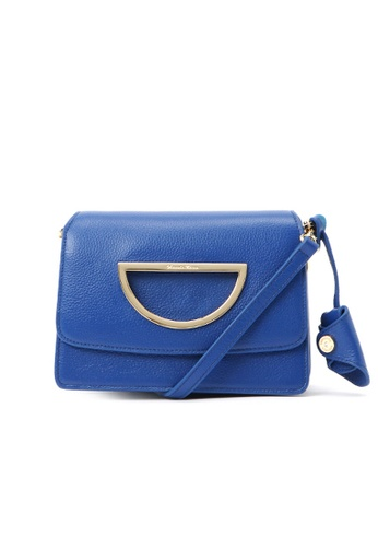 Samantha Thavasa blue and navy Samantha Thavasa Violet D Corey Leather Bag (S) 9EFADAC89AD6F4GS_1