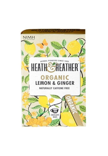 Holland & Barrett Heath & Heather Organic Lemon & Ginger 20 Tea Bags C1CFDES6630A29GS_1