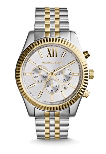 Michael Kors multi and silver Lexington Chronograph Watch MK8344 41D0AAC5782229GS_1