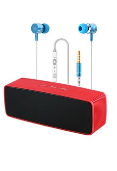 Portable Wireless Bluetooth Speaker with Earphone i7