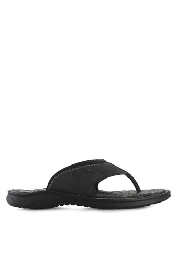 Pakalolo Boots black Thong Sandal PA409SH93HTIID_1