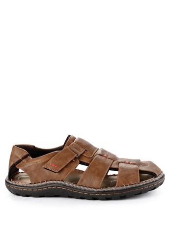 Rocklander brown Rocklander Sandals RO753SH0UYG4ID_1