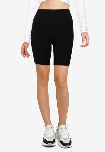 Hollister black Bike Shorts 61980AACCD162BGS_1