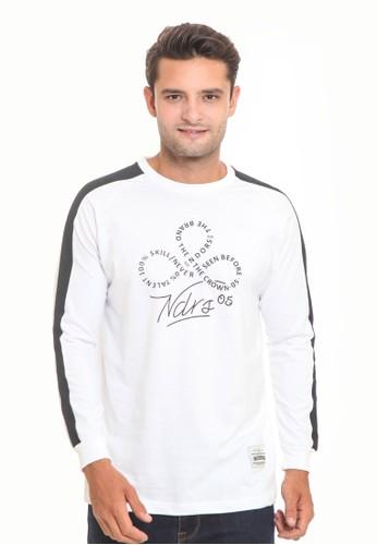 Endorse white Endorse Tshirt Ed Skill Ls White M - END-RJ001 D358FAA5B54417GS_1