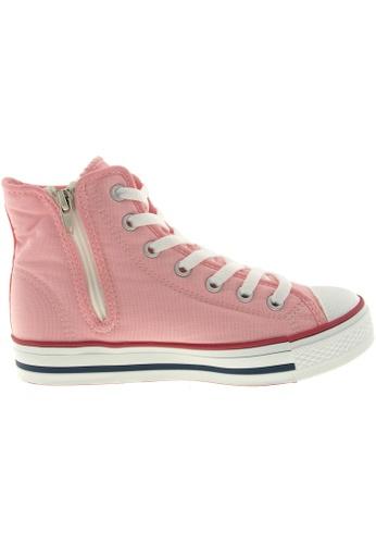 Maxstar pink Maxstar Women's C1 7 Holes Canvas High Top Casual Sneakers US Women Size MA164SH96PYHSG_1