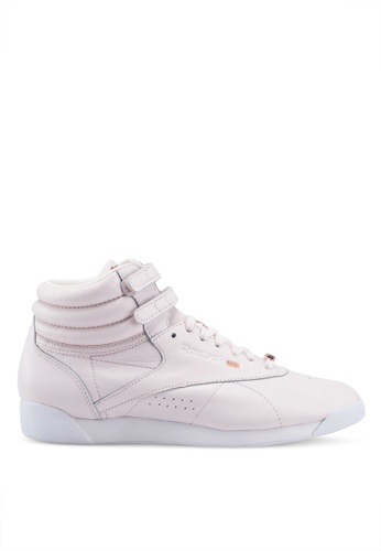 86625b6caa9a6 Buy Reebok Freestyle HI MUTED Shoes Online on ZALORA Singapore