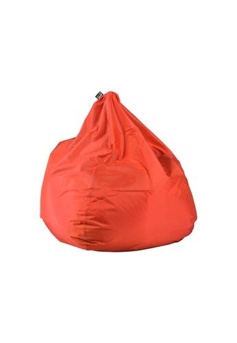 doob red PLOP - teardrop-shaped spill-proof doob bean bag (Chili Red) 3E1BCHL5AF83CCGS_1