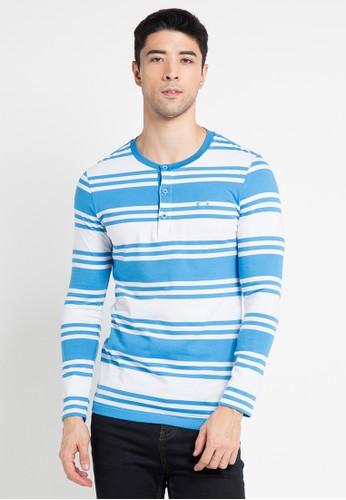 OTO ONO blue Long Sleeve OT276AA0UV0HID_1