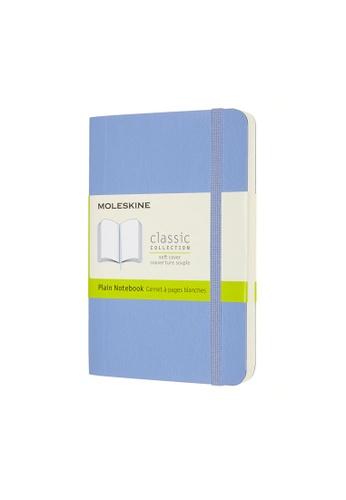 Moleskine blue Classic Notebooks Plain Soft Blue Pocket 3DDD4HL6404A44GS_1
