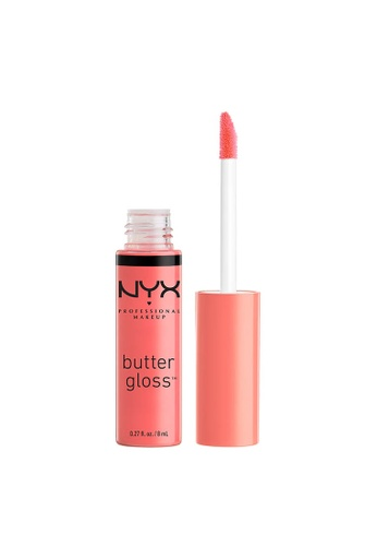 NYX Professional Makeup pink NYX Professional Makeup Butter Gloss - MAPLE BLONDIE A25E4BE9061900GS_1