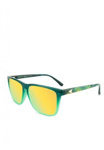 Knockaround green Fast Lanes - Limited Edition Green Flash II 9A9DEGL4B1B932GS_1