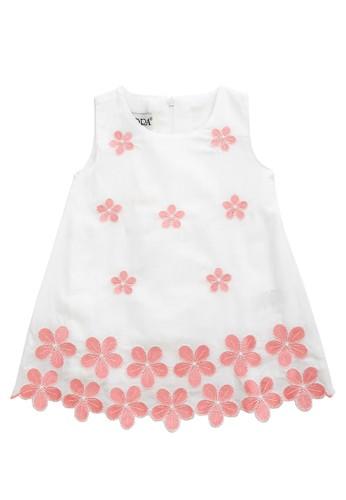 FIYORA pink Tiara Cotton Baby Girl Dress DC891KA5BC54B8GS_1