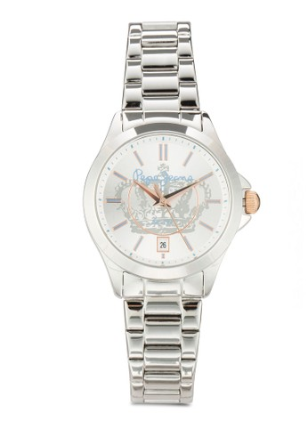 R2353114502 Katy 皇冠圖案不銹鋼女錶, 錶類,zalora 折扣碼 飾品配件