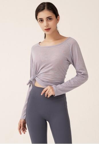 HAPPY FRIDAYS Women's Yoga Long Sleeve Tees DSG191001 AE5DCAA8A5B8EFGS_1