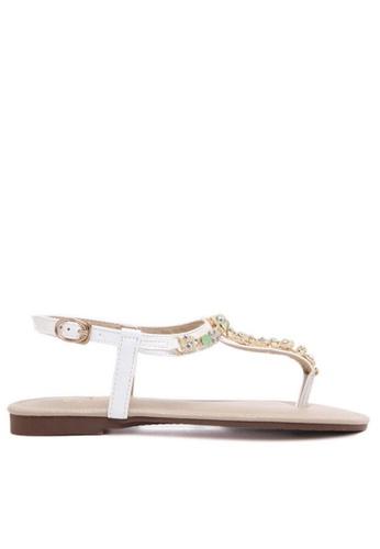 Twenty Eight Shoes white Jade Sandal TW446SH97WFQHK_1