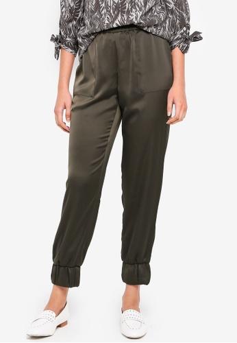 Vero Moda green Edna Loose Pants 6569FAAA9D314DGS_1