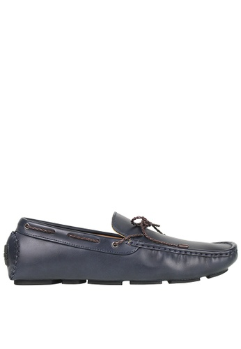 Tomaz blue Tomaz C354 Braided Loafers (Navy) D724FSH2692606GS_1