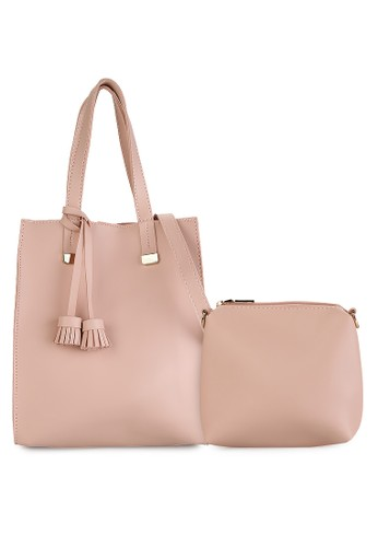HUER Cagi Tote Bag With Tassel
