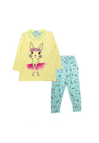 MELLOW yellow Mellow Rabbit Skirt Sleepwear(Yellow) 5143BKAE580362GS_1