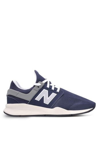 New Balance navy 247 Lifestyle Core Heritage Shoes FF3BASH53CBB1BGS_1