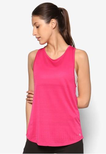 削背條紋運動背心、 服飾、 運動NewLook削背條紋運動背心最新折價