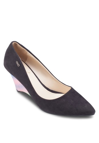 Suede Pointed Toe Wesprit 童裝edges, 女鞋, 鞋