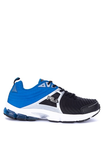 Fila black and multi F Force Running Shoes 4FEA0SHA10B94BGS_1