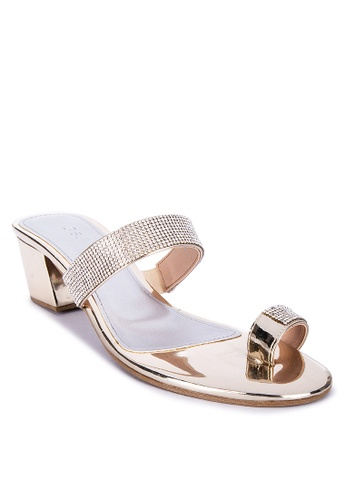 Suki gold Glittered Heels 8FDEESH80481DAGS_1