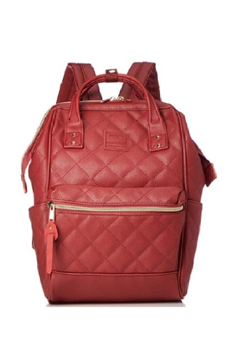 Anello red anello Quilting Hinge Clasp PU backpack 781F7AC326CCCDGS_1