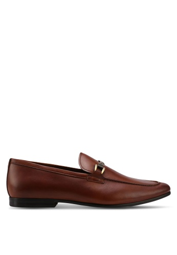 ALDO brown Afaeniel Loafers 08180SH33B70A6GS_1