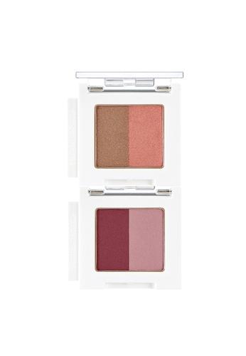 (Bundle) Mono Cube Eyeshadow (Dual) BR02 + PK01